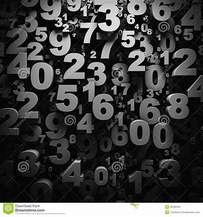 Numbers Number Digits Parati Carta Bw Gograph
