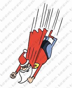 Super Pre Nol Dans Les Airs Illustration Libre De Droit Sur