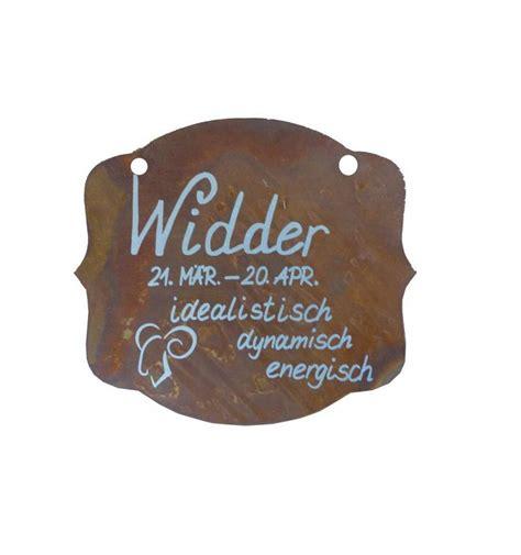 Welches Sternzeichen Ist Im April by Rostschild Sternzeichen Quot Widder Quot 13 X 11 Cm 21 M 228 Rz Bis