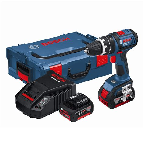 cordless l bosch gsb18v li 18v dynamic series cordless combi drill in l boxx 2 x 4 0ah batteries