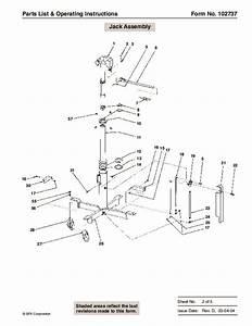 Spx Otc 1728 014 00942 Lift Table High Lift Transmission