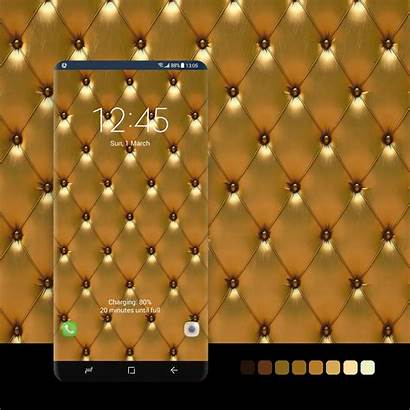 Luxury Phone Android Leather Walls