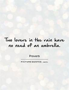 Two lovers in t... Wedding Umbrella Quotes