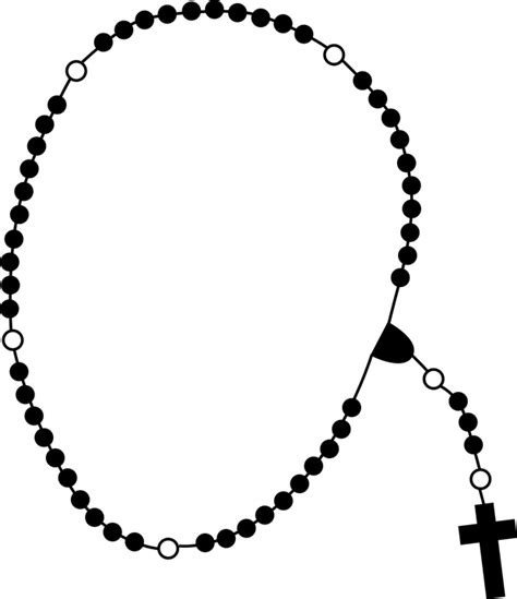 Rosary Clipart The Rosary Prayer Christianity 183 Free Vector Graphic On