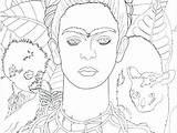 Self Portrait Coloring Printable Getcolorings Getdrawings sketch template
