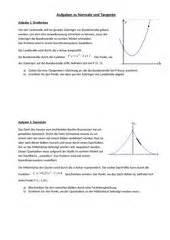 Tangente Und Normale Berechnen : 4teachers lehrproben unterrichtsentw rfe und unterrichtsmaterial f r lehrer und referendare ~ Themetempest.com Abrechnung