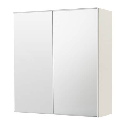 Ikea Canada Bathroom Mirror Cabinet by Lill 197 Ngen Mirror Cabinet With 2 Doors White Ikea