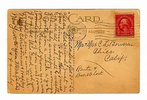 Antique images vintage postcard back digital background for Antique letters