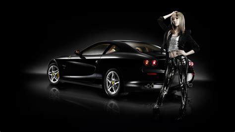 women  machines ferrari car asian girls wallpaper