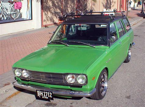 1972 Datsun 510 Wagon by Cc Outtake 1972 Datsun 510 Wagon Green Edition