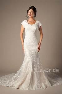 modest wedding gowns aviana With lds modest wedding dresses