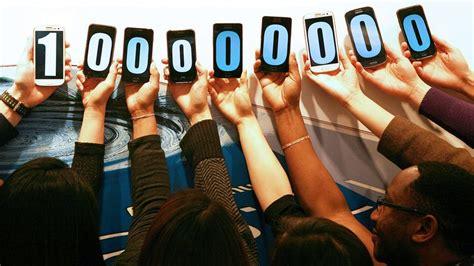 samsung galaxy  range zips   million sales techradar