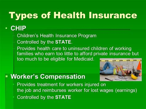 Types Of Health Treatment Insurance