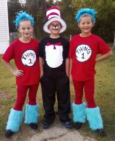 cat in the hat costume diy this years costumes cat in the hat with thing one and