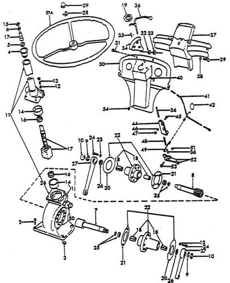 ford  tractor parts diagram automotive parts diagram