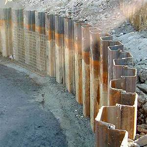 China Iraq Coated Steel Sheet Piles (BR00187) Photos ...