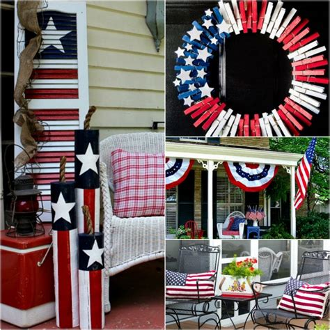 july front porch ideas patriotic outdoor