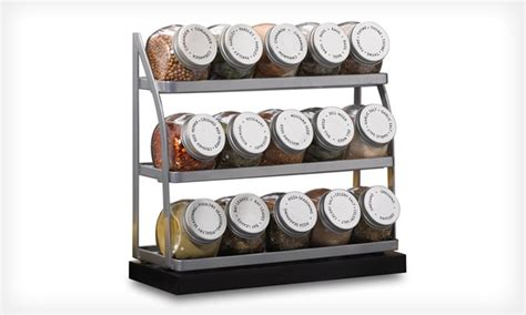 Spice Rack And Spices