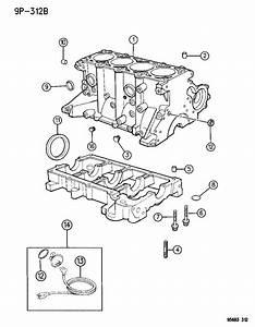 2001 Chrysler Sebring Heater  Engine  Engine Block