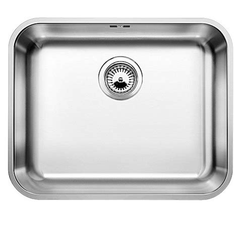 blanco kitchen sinks stainless steel blanco supra 500 u stainless steel sink kitchen sinks 7919