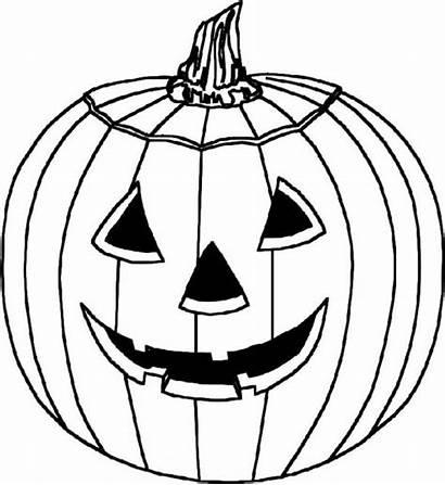 Halloween Coloring Scary Printable Pumpkin