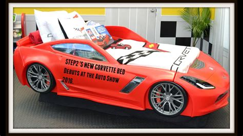 Corvette Car Bed - step2 debuts their new corvette bed at the new york