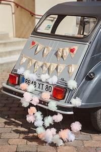 Decoration Voiture Mariage : d coration voiture mariage just married wedding pinterest mariage wedding and wedding cars ~ Preciouscoupons.com Idées de Décoration