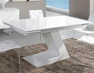 Table Blanche Design : javascript est d sactiv dans votre navigateur ~ Teatrodelosmanantiales.com Idées de Décoration