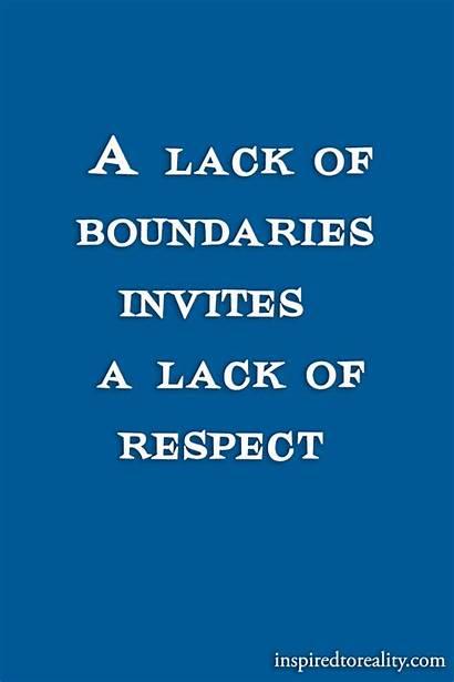 Respect Lack Boundaries Invites