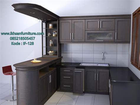 kitchen set furniture kitchen set minimalis elegan