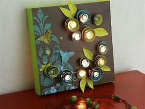 des tableaux lumineux a fabriquer soi meme With idee deco bureau maison 12 idee cadeau fait main paris design