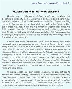 Professional Nursing Personal Statement Examples