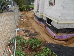Rigole Selber Bauen : drainage verlegen garten garten drainage verlegen patio ~ Lizthompson.info Haus und Dekorationen