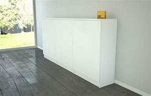 Sideboard 30 Cm Tief : highboard mit schiebet ren ~ Bigdaddyawards.com Haus und Dekorationen