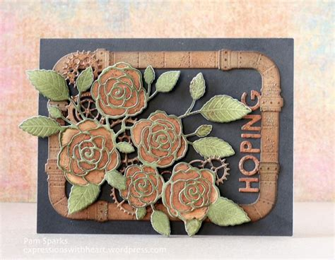 Memory Poppy Bouquet Pin By Carol Jones On Cards Memory Box Cards Box