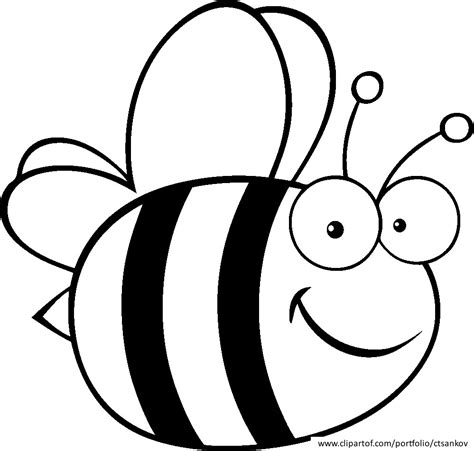 Coloring Bee by Bumble Bee Coloring Pages And Print For Free