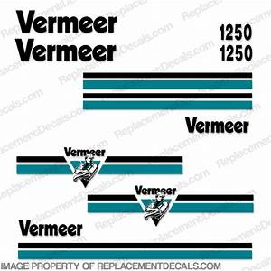 Vermeer Bc1250 Brush Chipper Decals