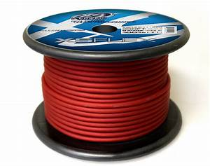 Xs Flex Red 8awg Cable
