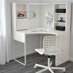 ikea micke corner workstation corner desk white