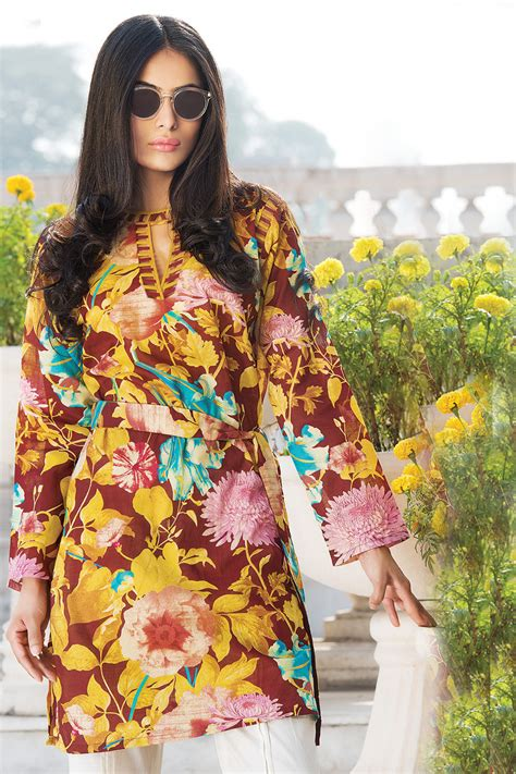 gul ahmed printed summer lawn dresses collection