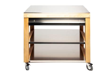 etagere inox cuisine cristel billot de cuisine cookmobil tiroir étagère