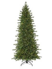 Pre Lit Slim Christmas Trees On Sale by Red Spruce Slim Artificial Christmas Tree Balsam Hill