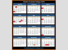 Western Australia Holidays 2019