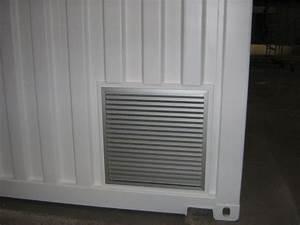 amenagement bungalow et conteneur sur mesure With grille aeration porte garage