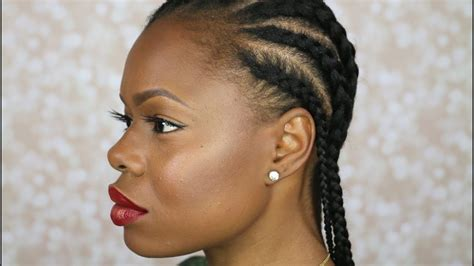 Cornrow Hairstyles how to cornrow your own hair beginner friendly