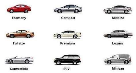 كيف يتم تحديد تصنيف حجم السيارة؟