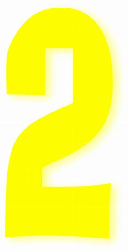 Yellow Number Bright Clker Clip Clipart