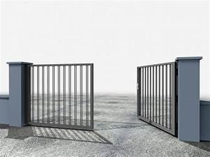Portail 2 Battants : portillons et portails battants portail battant elixium barreaud documentations portail ~ Melissatoandfro.com Idées de Décoration