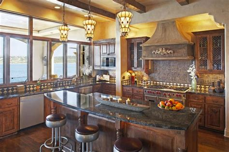 stunning mediterranean kitchen designs home design lover