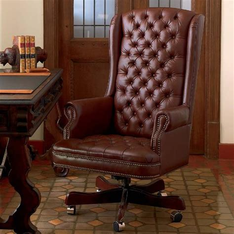 executive office chair king ranch saddle shop